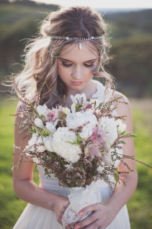 boho bridal jewelry